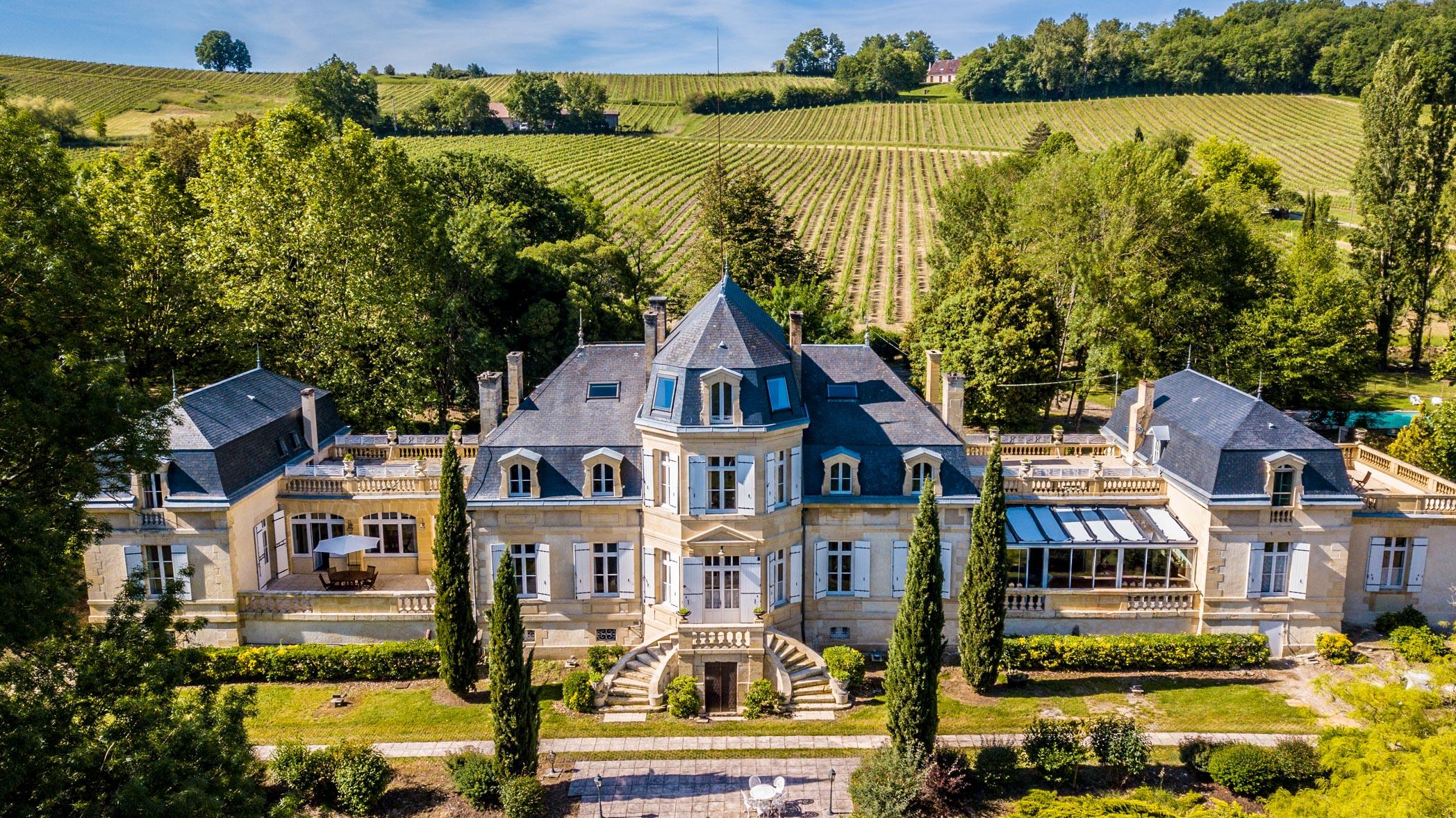 Chateau Rauly location bergerac Monbazillac