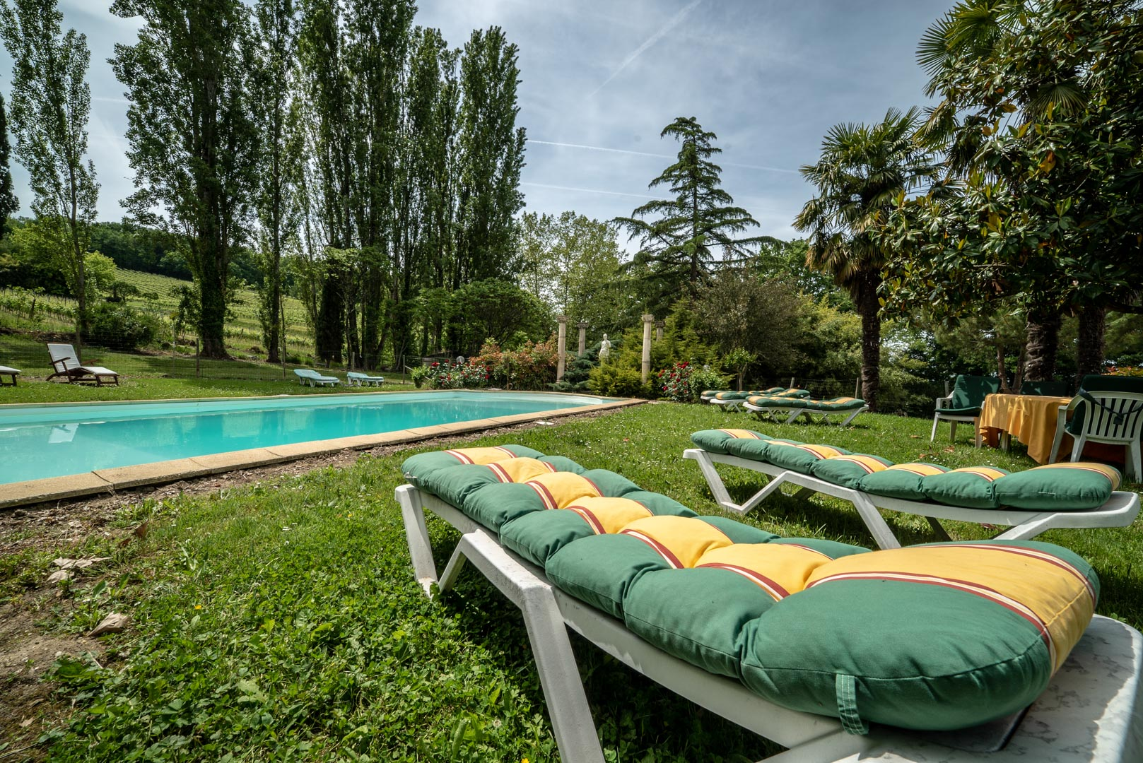 Piscine Chateau Rauly location bergerac Monbazillac