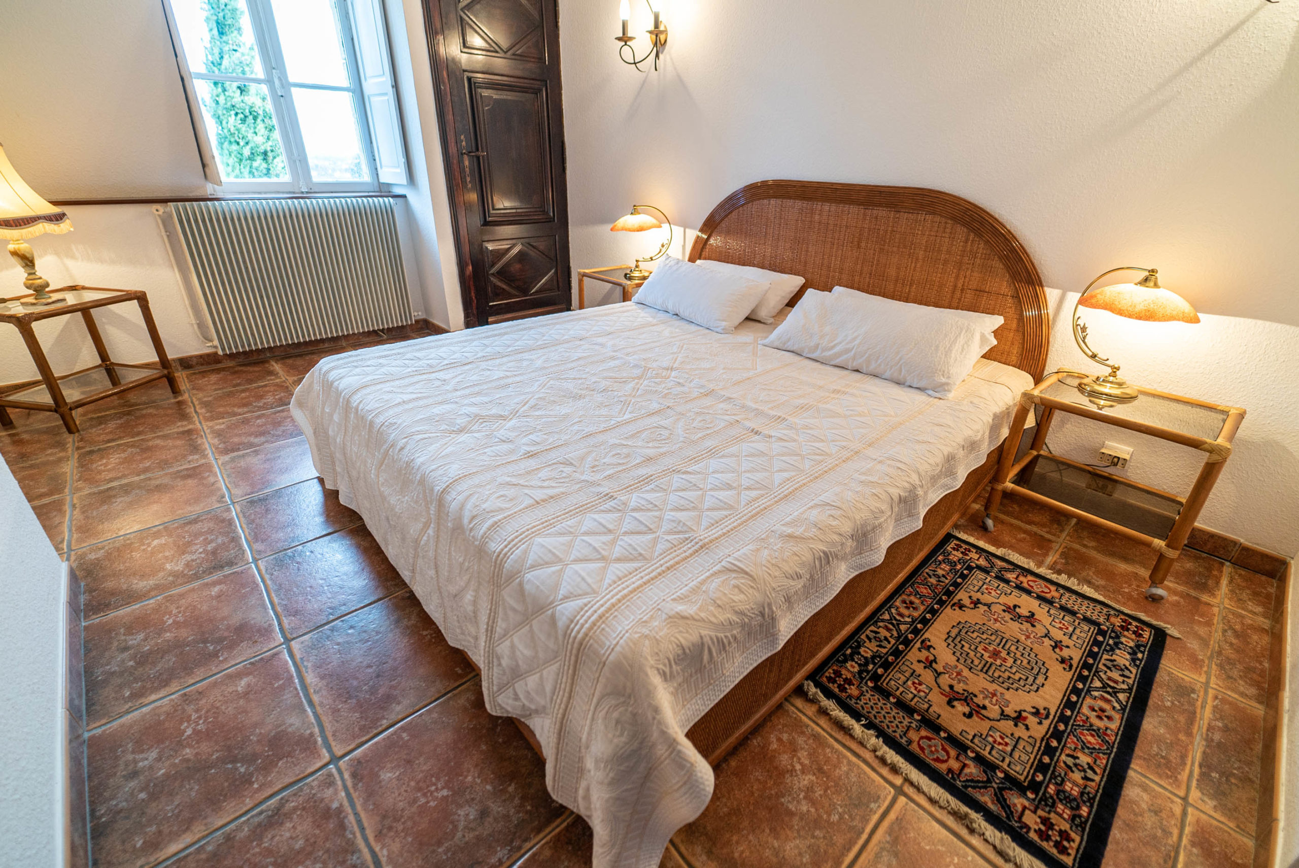Chambre suite nuptiale chateau Rauly location bergerac Monbazillac